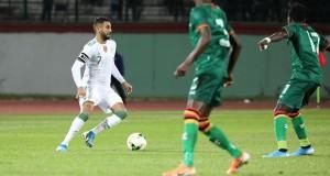 EN Algérie - Zambie Mahrez