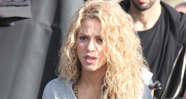 Shakira Films An Ad - Barcelona