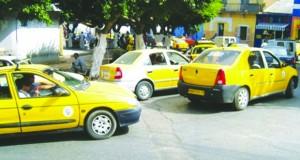 grève des taxi