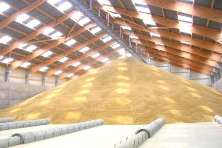 stockage des céréales
