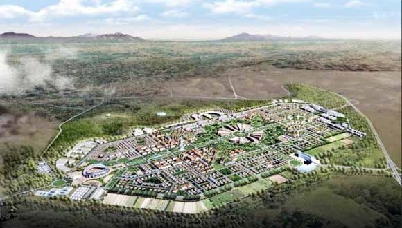 ville nouvelle d'El-Menea