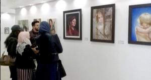 Ouverture du Salon national des arts plastiques