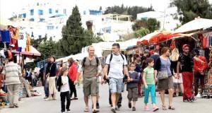 Touristes en tunisie