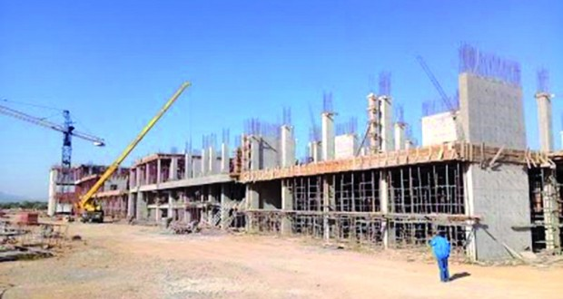 construction hopital