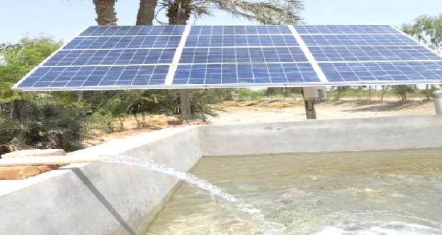 recours au solaire dans l'irrigation agricole