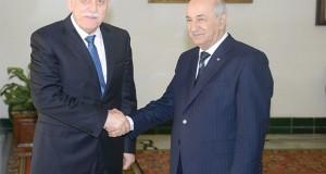 Tebboune - Fayez El-Serraj