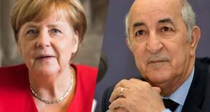 Tebboune - Merkel