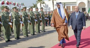 Emir du Qatar - Tebboune