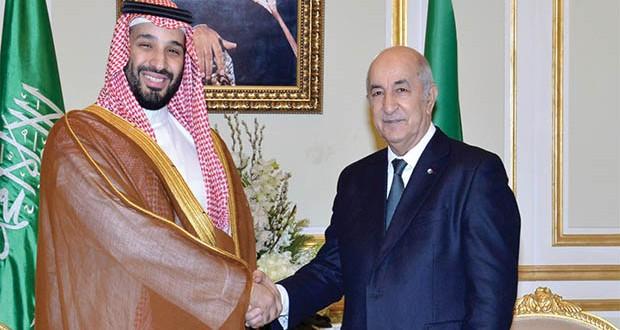 Tebboune-Émir Mohamed ben Salmane