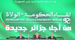 Tebboune Rencontre Gouvernement-walis