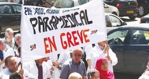 grève paramédiaux