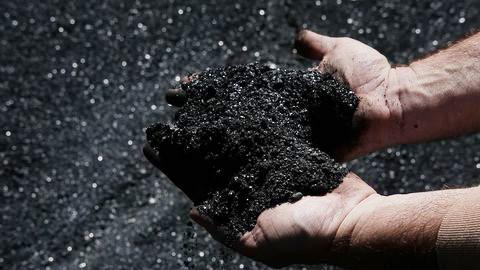 terrils de charbon