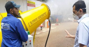 canons pulvérisateurs désinfectants