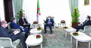 Tebboune reçoit l'ambassadeur US