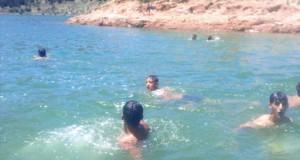 baignade dans les barrages