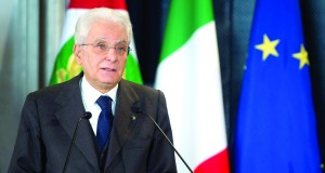 Le président italien Sergio Mattarella