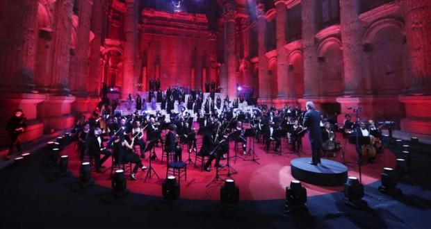 Liban - Un unique concert sans public dans les ruines de Baalbek