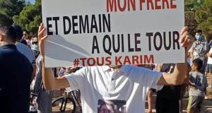 RASSEMBLEMENT DE RECUEILLEMENT À LA MEMOIRE DE KARIM BELMEKKI