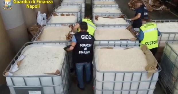 Saisie record en Italie de 14 tonnes d'amphétamines