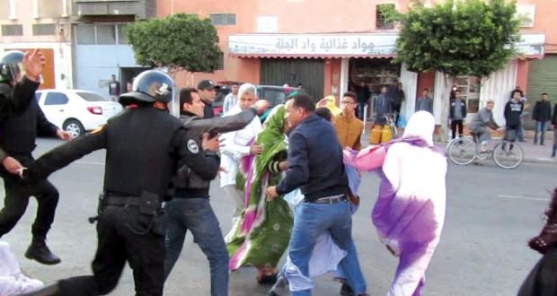 des droits de l'homme par le Maroc dans les territoires occupés du Sahara occidental.