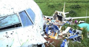 Accident d'avion en Inde