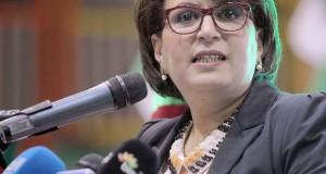 Ministre de la culture malika bendouda.Fateh Guidoum / PPAgency