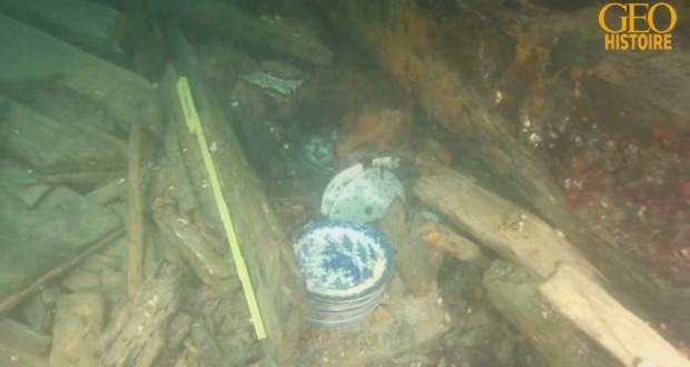 Le trésor d'un roi danois dans une épave engloutie depuis 500 ans révèle