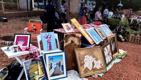 Une exposition de produits d'artisanat en soutien aux femmes rurales