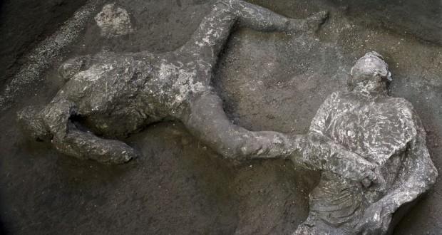 À Pompéi, l'émouvante découverte de deux victimes de l'éruption de 79