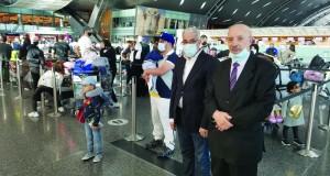 Algériens à Doha
