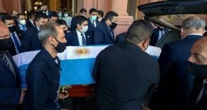 Maradona enterrement
