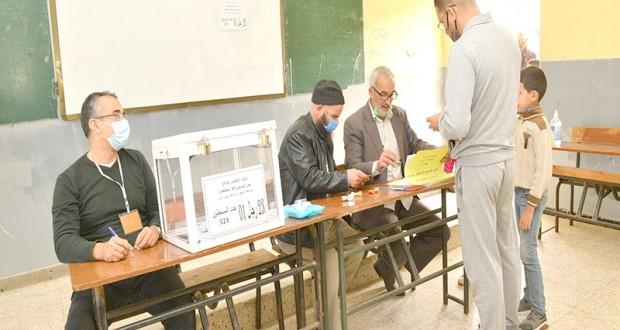Vote à Oran