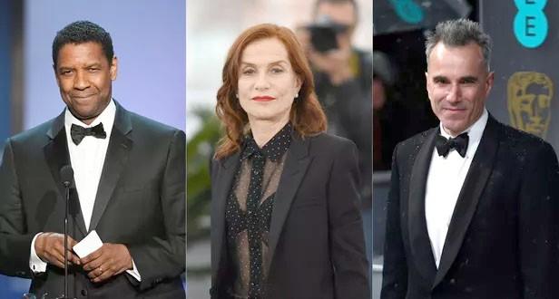 Washington, Huppert et Day-Lewis, meilleurs acteurs du XXIe siècle