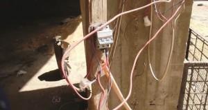 agression réseau électrique en algérie