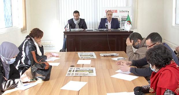 Djilali forum Courrier d'Algérie