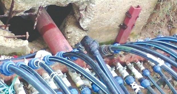 branchements illicites sur les réseaux d'eau potable