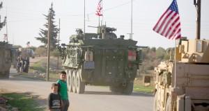 Les forces américaines en Syrie