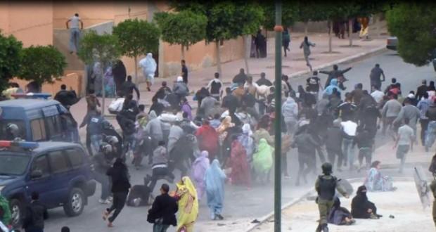 Répression sahara occidental