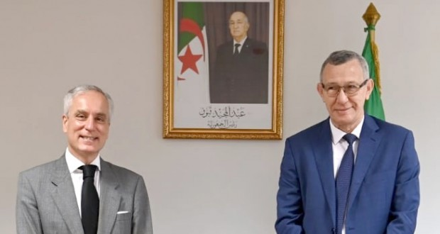 Belhimer reçoit l'ambassadeur du Portugal