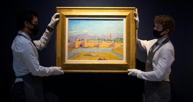 Enchères - Une toile de Churchill adjugée plus de 8 millions d'euros à Londres
