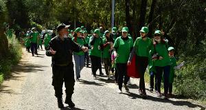 action écologique à la forêt de Baïnem