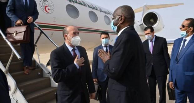 Kamel Beldjoud, à Nouakchott