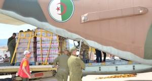L'Algérie expédie 60 tonnes d'aides alimentaires au Niger