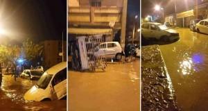 Inondation à Médéa