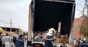 Décès de cinq personnes gravement brulées à l'intérieur d'un conteneur à Bechar