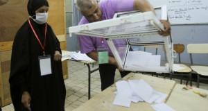 Algeria's parliamentary election, in Algiers