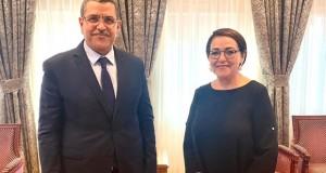 Le Premier ministre reçoit l'actrice Bahia Rachedi