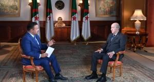 Tebboun entretien Al Jazeera