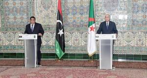 Tebboune Algérie-Libye