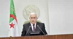 Ibrahim Boughali, président de l'APN